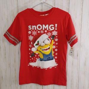 Despicable me Christmas theme tee size XL
